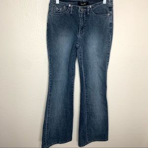 Angels Low Rise Boot Cut No Waistband Size 5